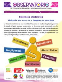 Boletin n° 2-2019: violencia obstétrica, violencia que no se ve y tampoco se sanciona