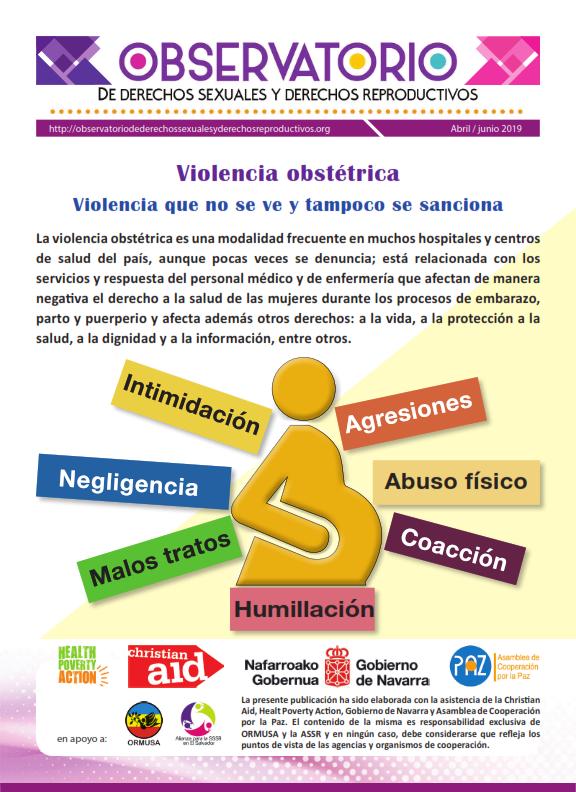 Lee más sobre el artículo Boletin n° 2-2019: violencia obstétrica, violencia que no se ve y tampoco se sanciona