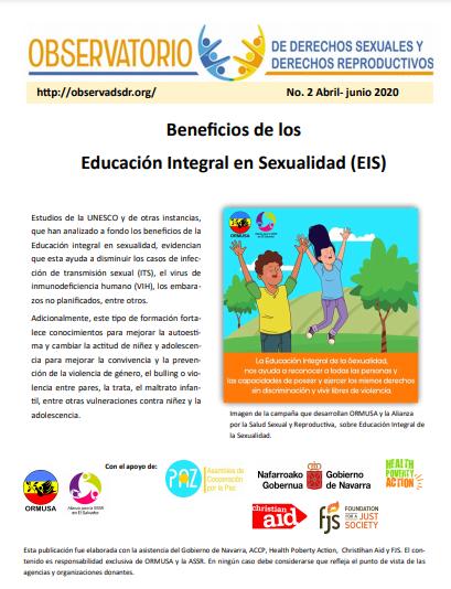Lee más sobre el artículo Boletin n° 2-2020 Educación Integral en sexualidad (EIS): prevención y auto cuido.
