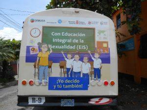 Cuñas de campaña sobre Educación Integral en Sexualidad.