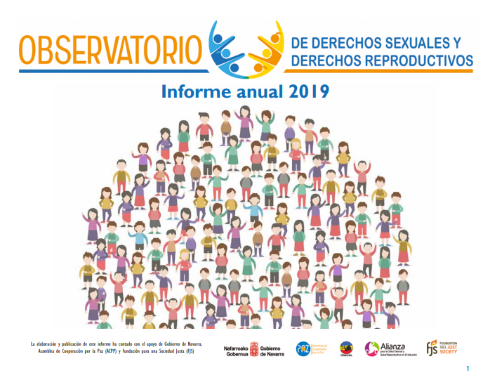 Lee más sobre el artículo Informe anual 2019  Observatorio de los Derechos Sexuales y Derechos Reproductivos